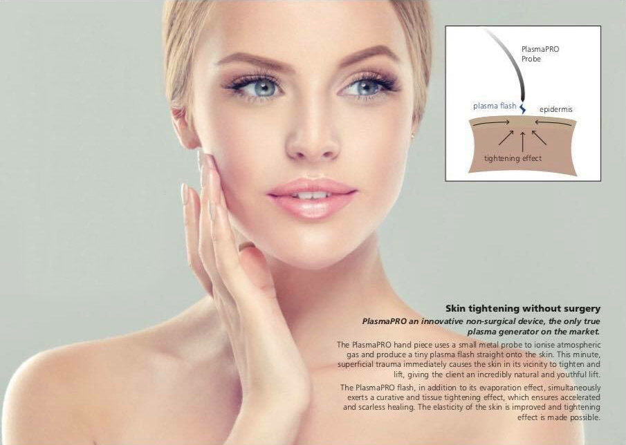 Tocolo – skin tightening treatment. PlasmaPRO Probe