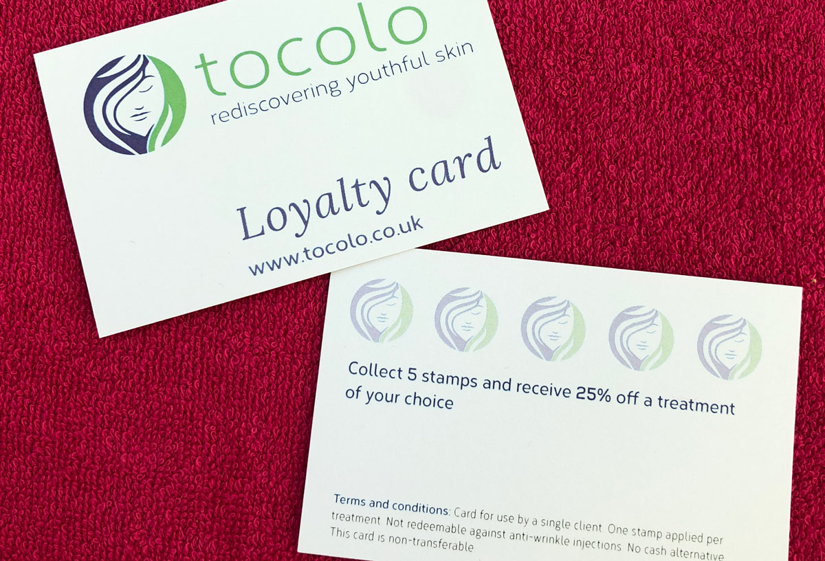 Tocolo, Watford – Loyalty card