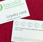 Tocolo – Watford, beauty treatments Loyalty card